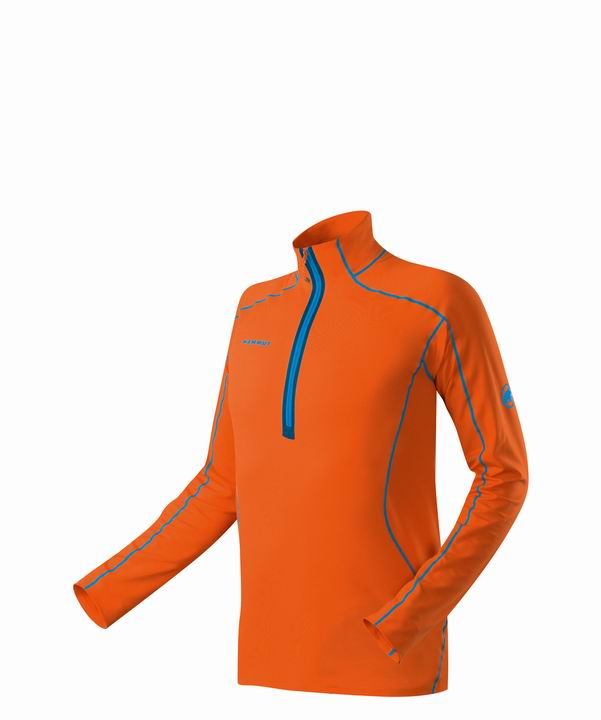 Mammut Men Moench Longsleeve orange