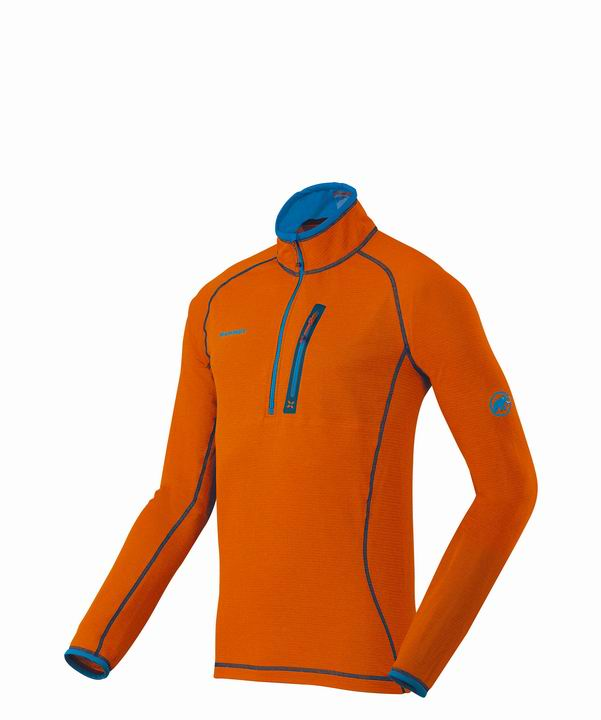 Mammut Men Eiswand Zip Pull Light orange