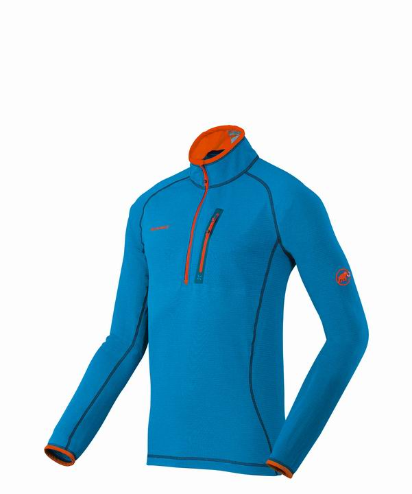 Mammut Men Eiswand Zip Pull Light cyan