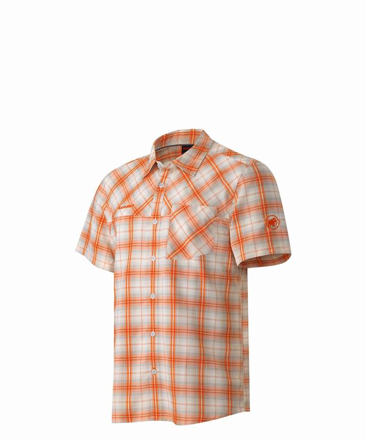 Mammut Men Eino Shirt white-orange