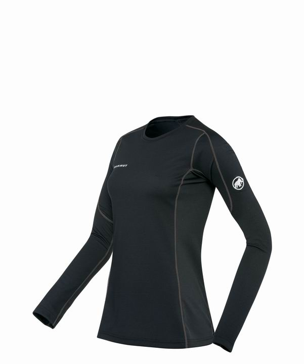 Mammut Women Go Warm Longsleeve black