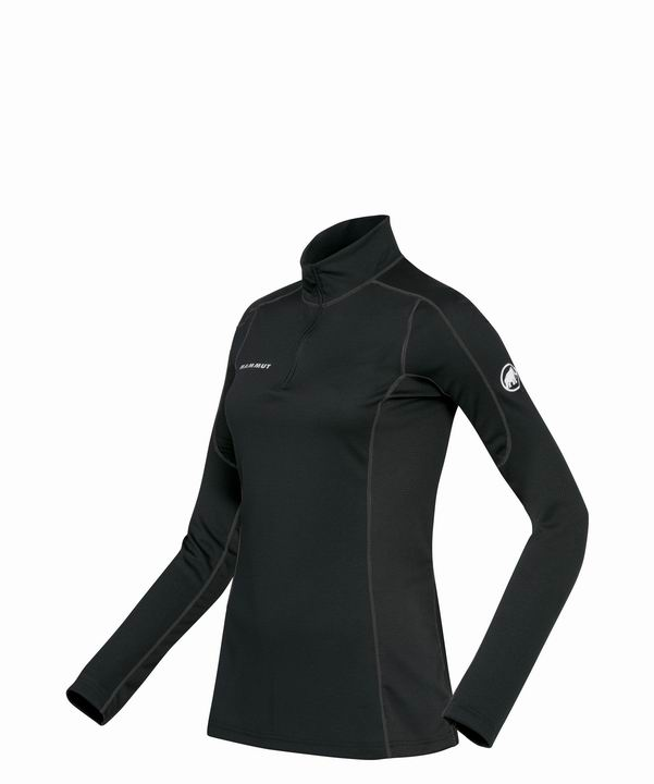 Mammut Women Go Warm Zip Longsleeve black