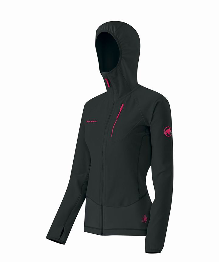 Mammut Women Yukon Tech Jacket black-raspberry