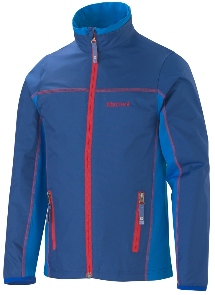 Marmot Boys Fusion Jacket Royal Navy/Cobalt Blue