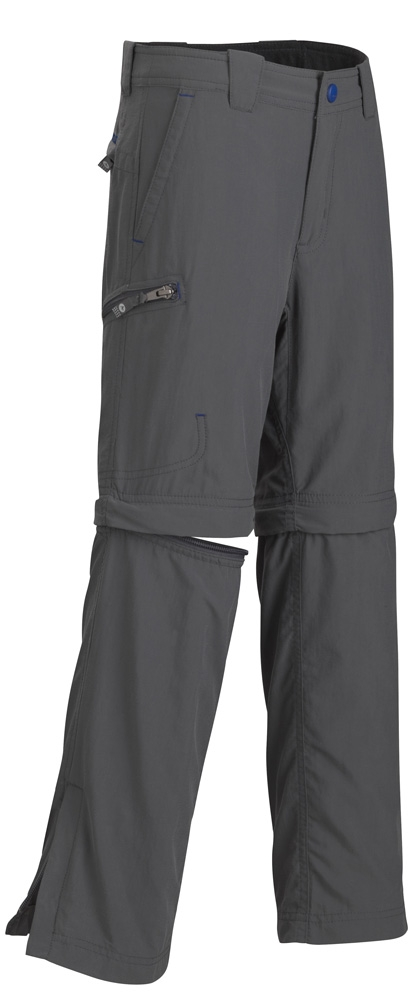 Marmot Boys Cruz Comvertible Pant Slate Grey
