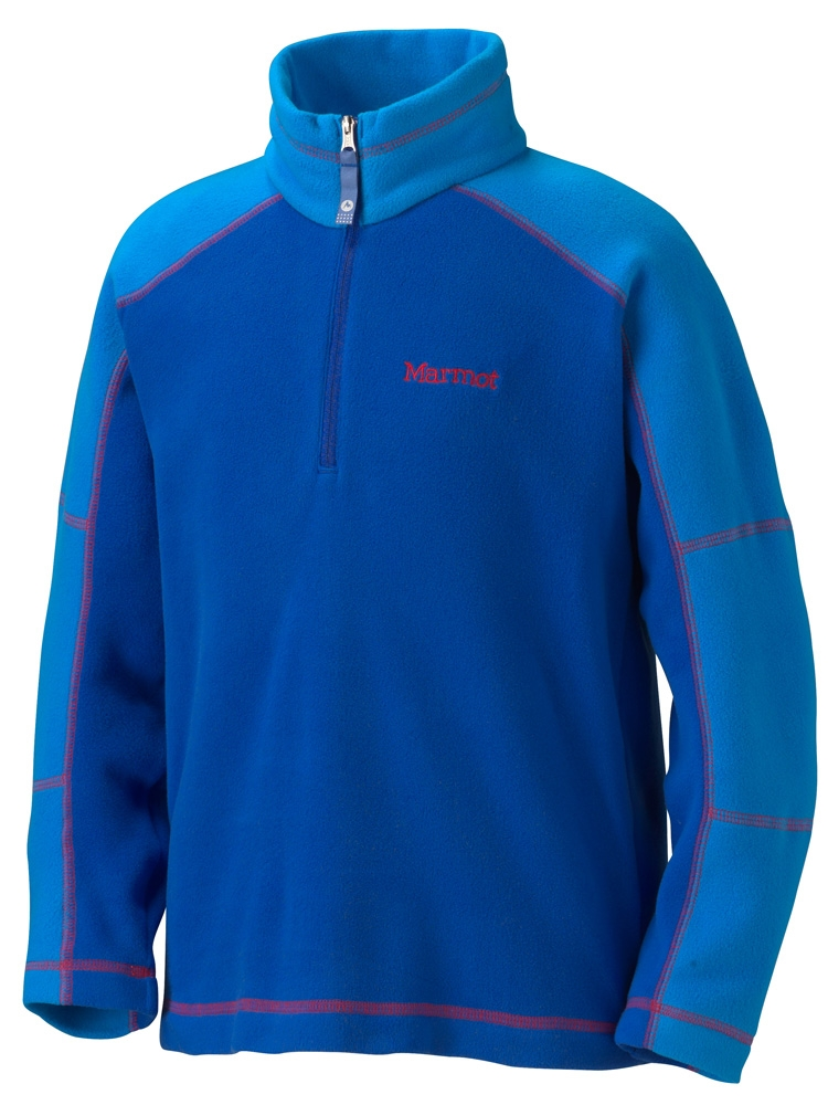 Marmot Boys Flash 1/4 Zip Royal Navy/Cobalt Blue