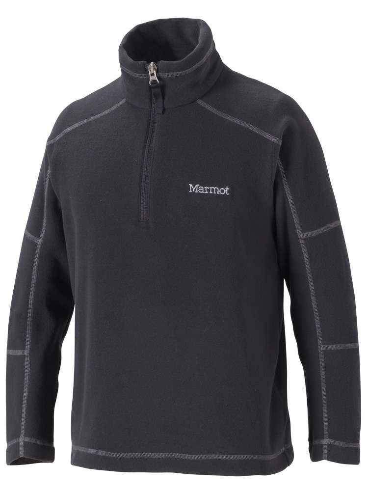 Marmot Boys Flash 1/4 Zip Black