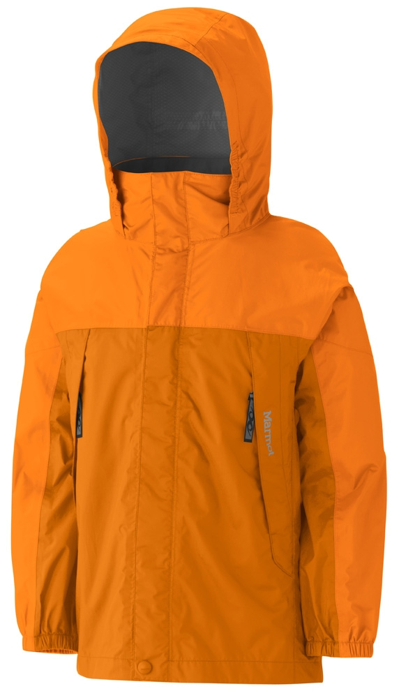 Marmot Boys PreCip Jacket Ember/Dark Orange