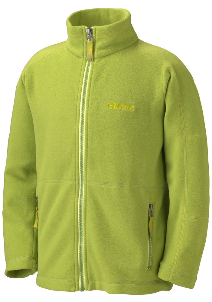 Marmot Boys Flash Jacket Green Lichen