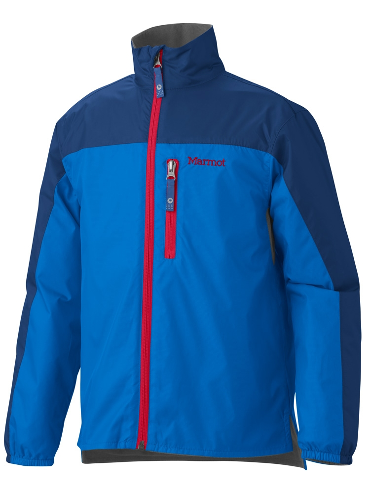 Marmot Boys DriClime Windshirt Cobalt Blue/Royal Navy