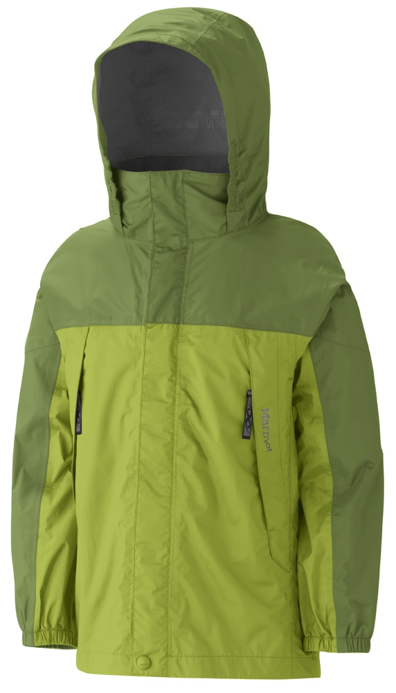 Marmot Boys PreCip Jacket Green Lichen/Green Ridge