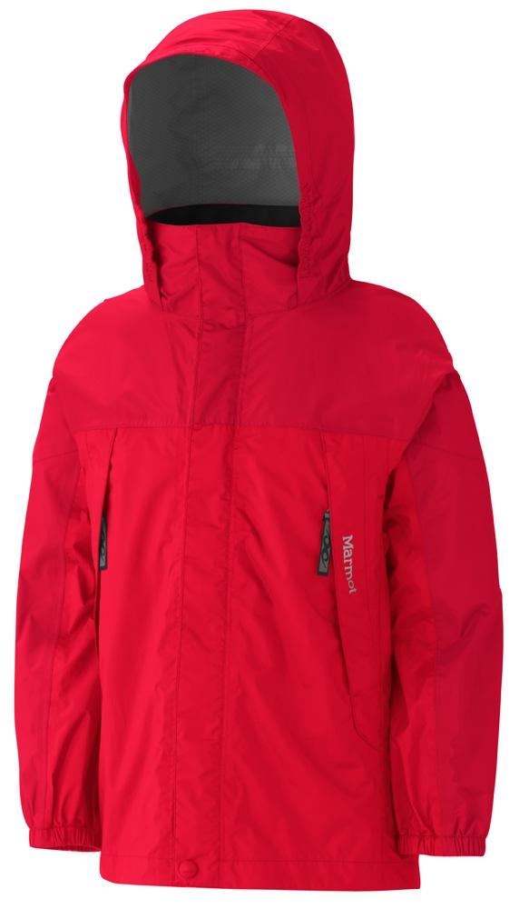 Marmot Boys PreCip Jacket Rocket Red/Team Red