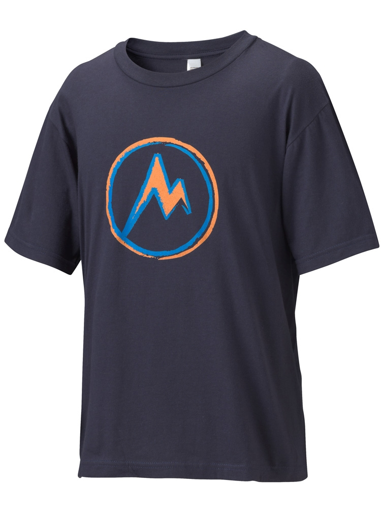Marmot Boys Mdot T-Shirt Twilight