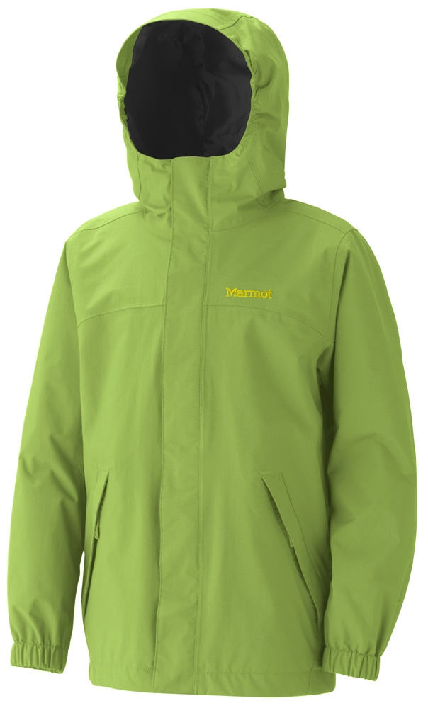 Marmot Boys Storm Shield Jacket Green Lichen