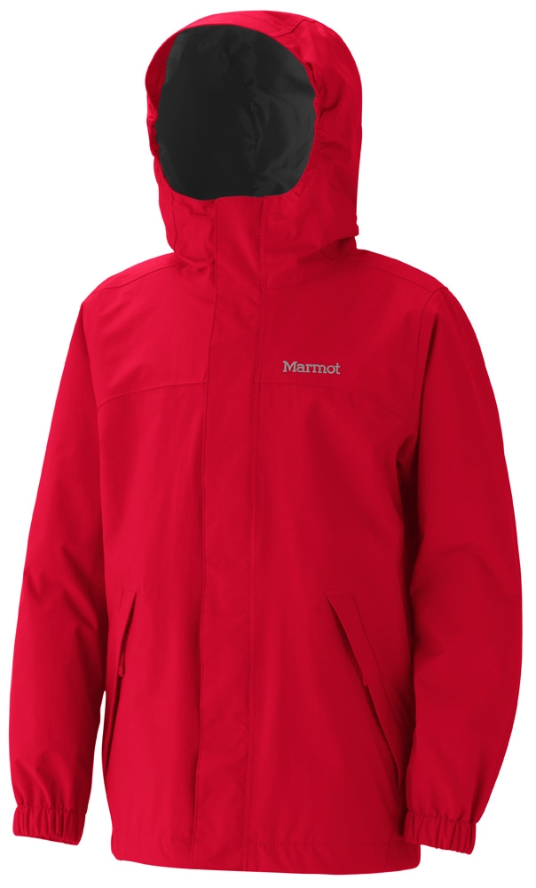 Marmot Boys Storm Shield Jacket Team Red
