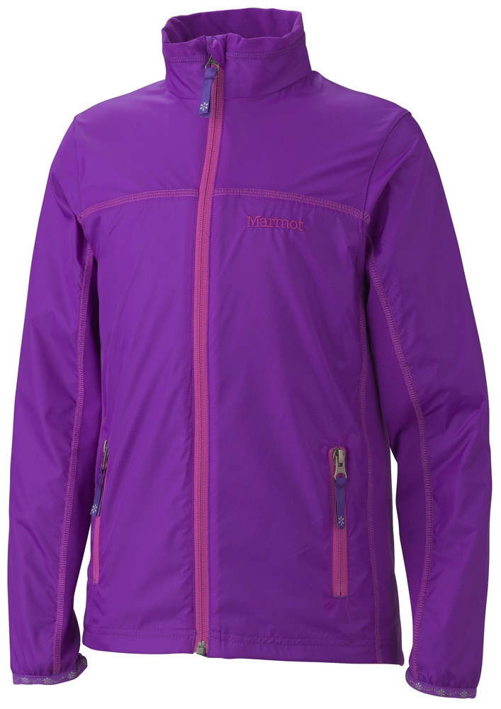 Marmot Girls Fusion Jacket Vibrant Purple