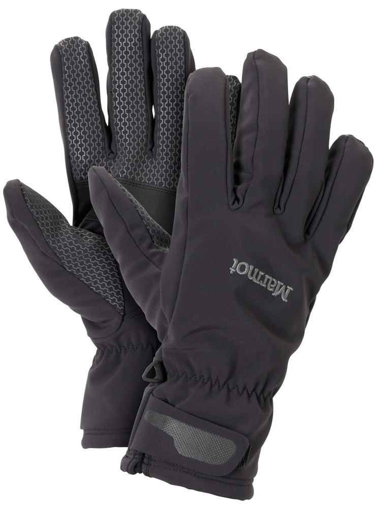 Marmot Glide Softshell Glove Black