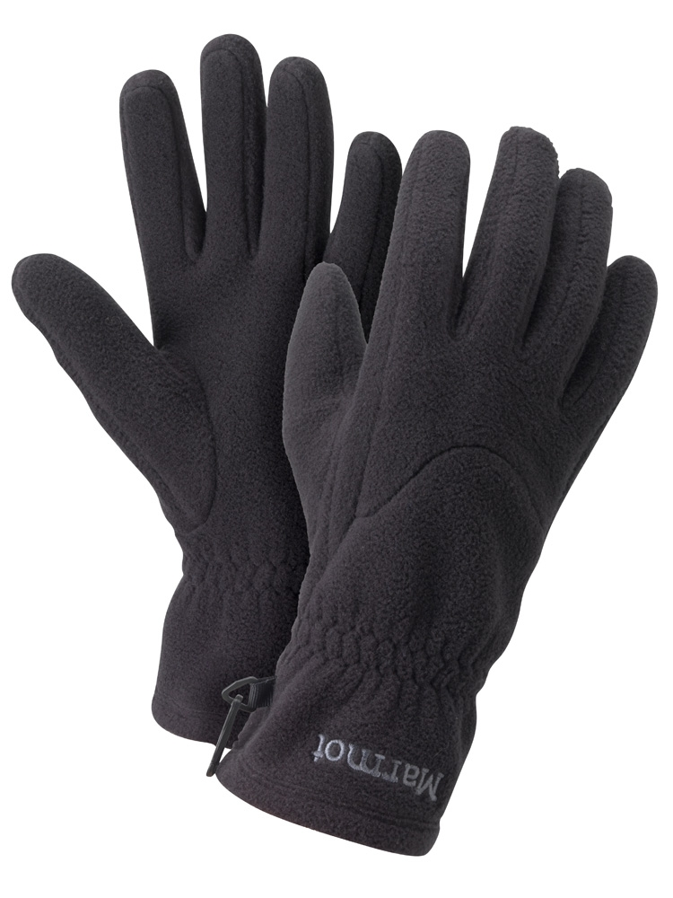 Marmot Womens Fleece Glove True Black