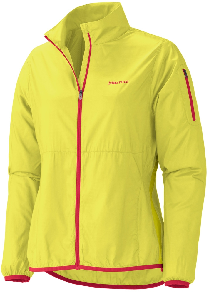 Marmot Womens Trail Wind Jacket Sulphur