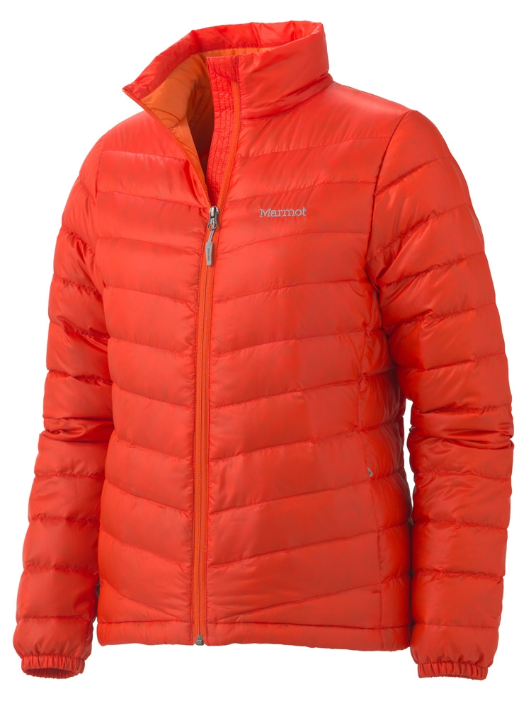 Marmot Womens Jena Jacket Mars Orange