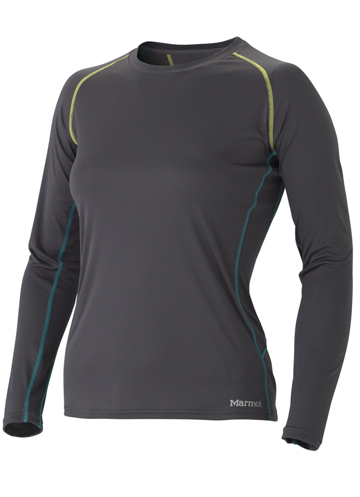 Marmot Womens Stride LS Dark Steel