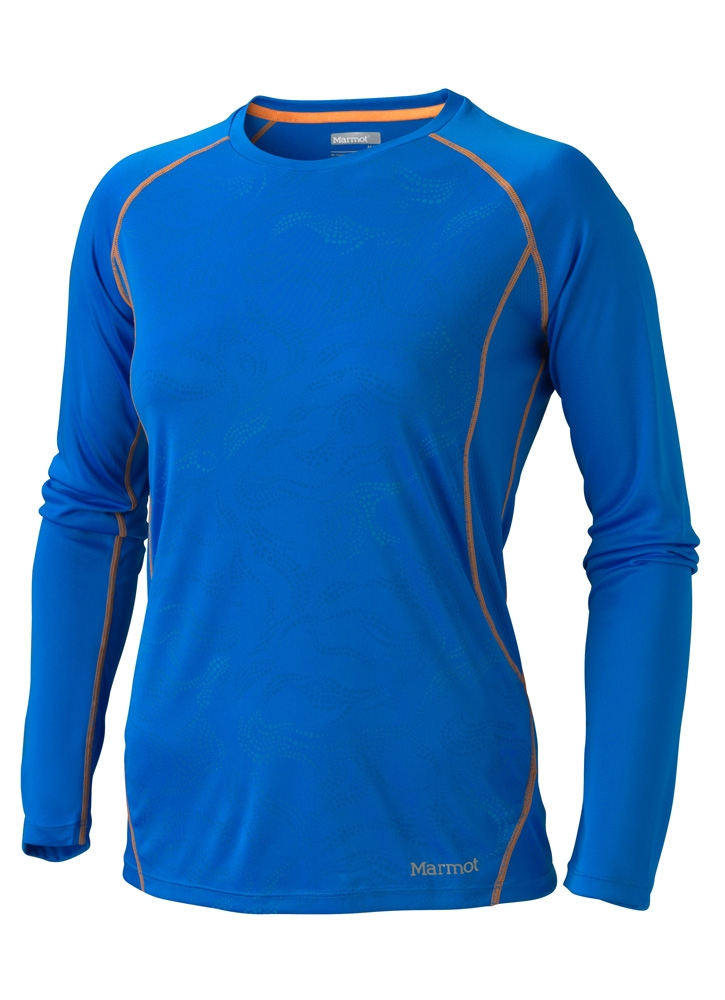 Marmot Womens Crystal LS Cobalt Blue Air