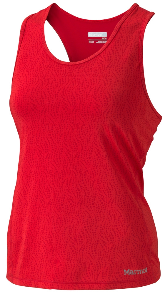 Marmot Womens Crest Tank Rocket Red Air