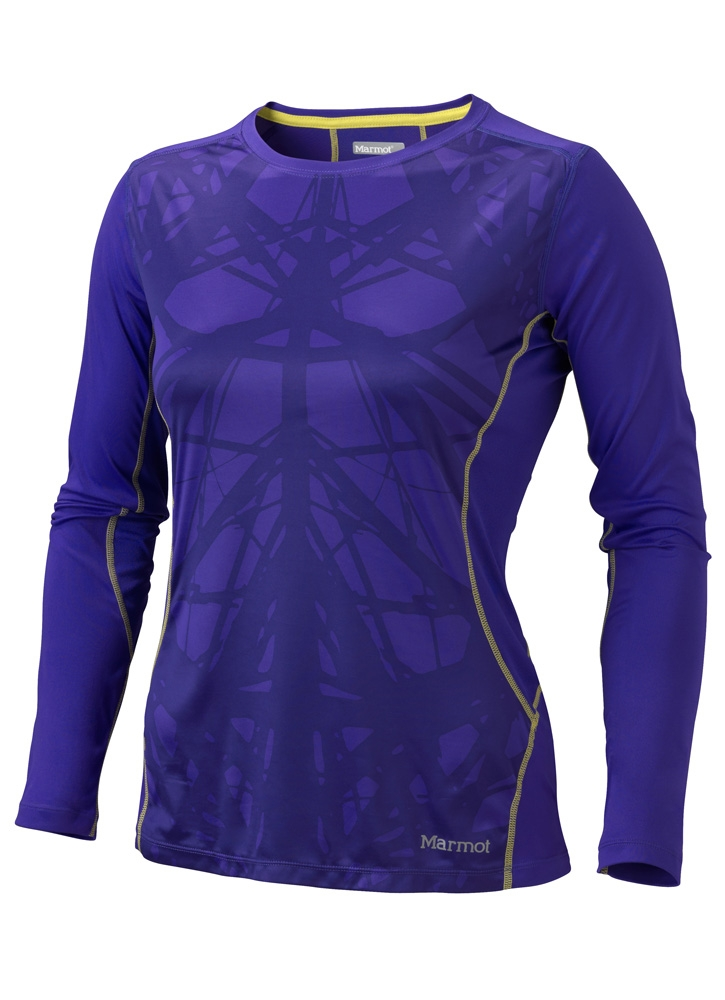 Marmot Womens Outlook LS Valor Purple