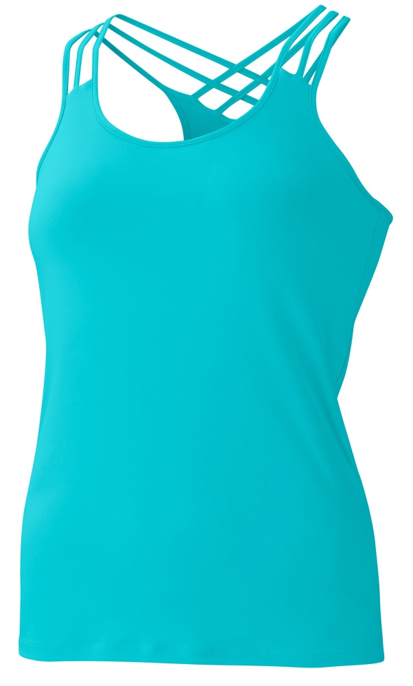 Marmot Womens Vogue Tank Blue Radiance