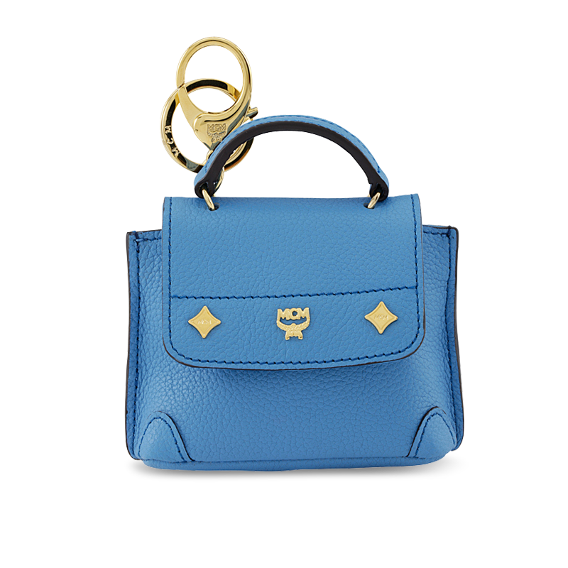 MCM LEATHER CHARM FIRST LADY TOTE