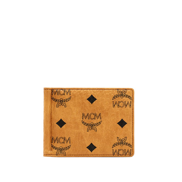 MCM MEN Heritage Line HERITAGE MONEY CLIP Cognac ONE SIZE