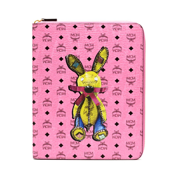 MCM MEN Rabbit RABBIT IPAD CASE Pink ONE SIZE