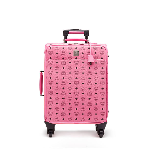 MCM WOMEN Travel CABIN TRAVEL TROLLEY Pink