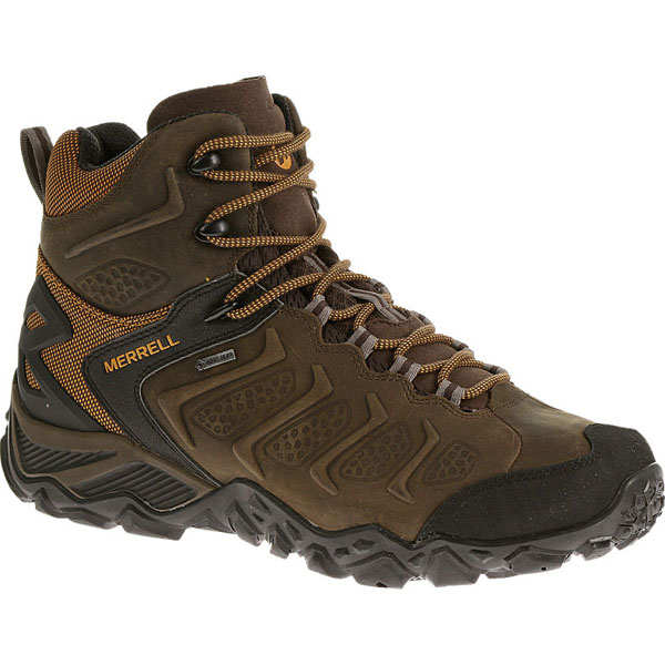 MERRELL MEN'S CHAMELEON SHIFT MID WATERPROOF Bitter Root