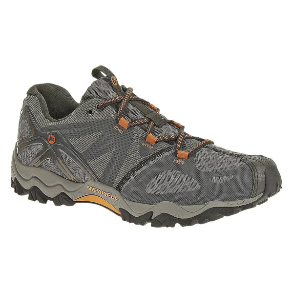 MERRELL MEN'S GRASSBOW AIR Dark Grey/Orange