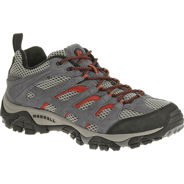 MERRELL MEN'S MOAB VENTILATOR Granite/Lantern