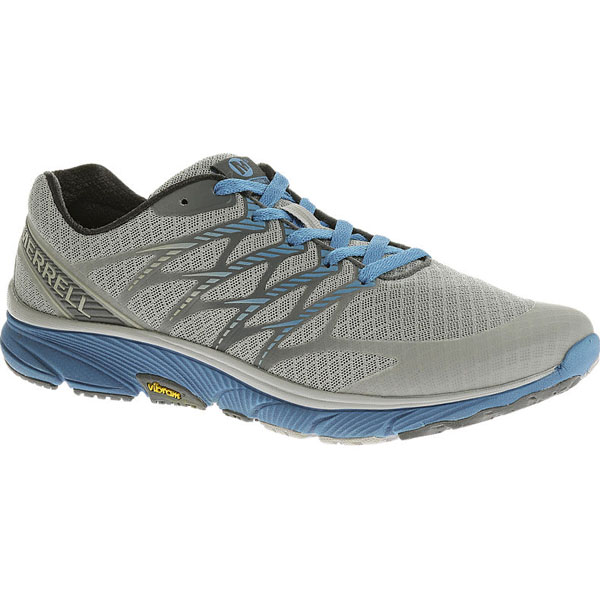 MERRELL MEN'S BARE ACCESS ULTRA Light Grey/Racer Blue