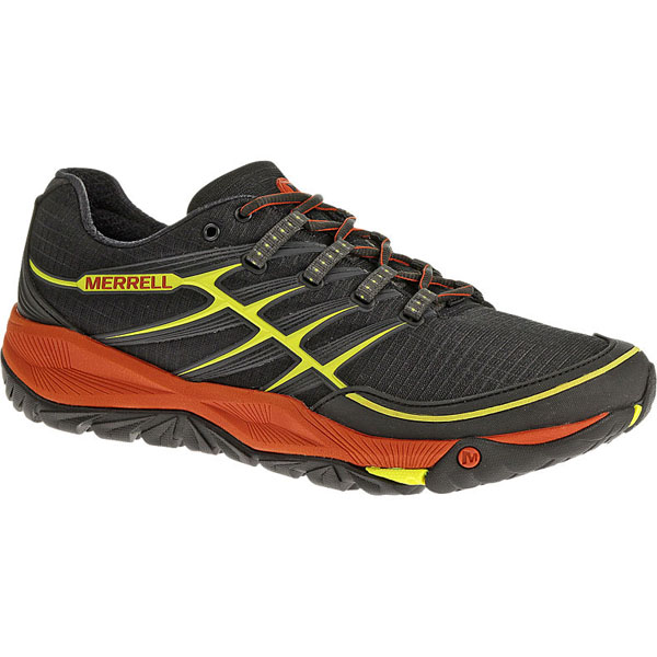 MERRELL MEN'S ALL OUT RUSH Black/Lantern