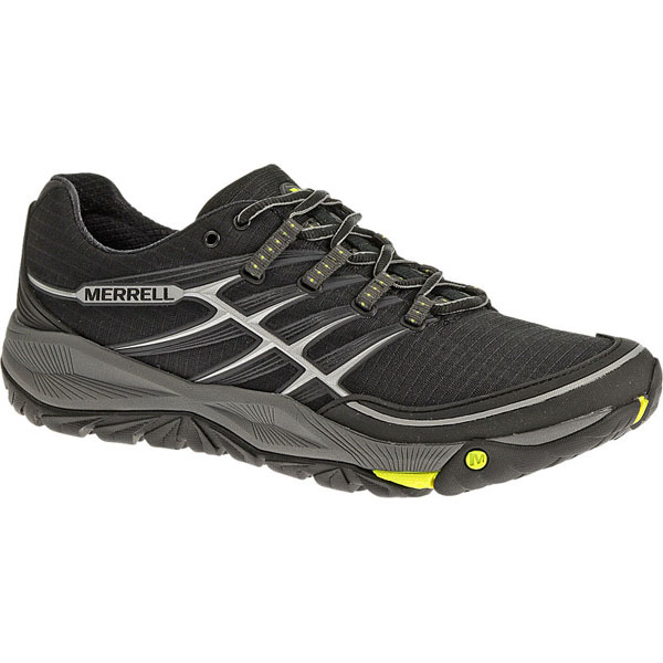 MERRELL MEN'S ALL OUT RUSH Black/Lime