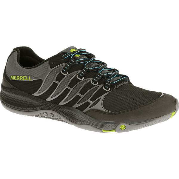 MERRELL MEN'S ALL OUT FUSE Black/Lime
