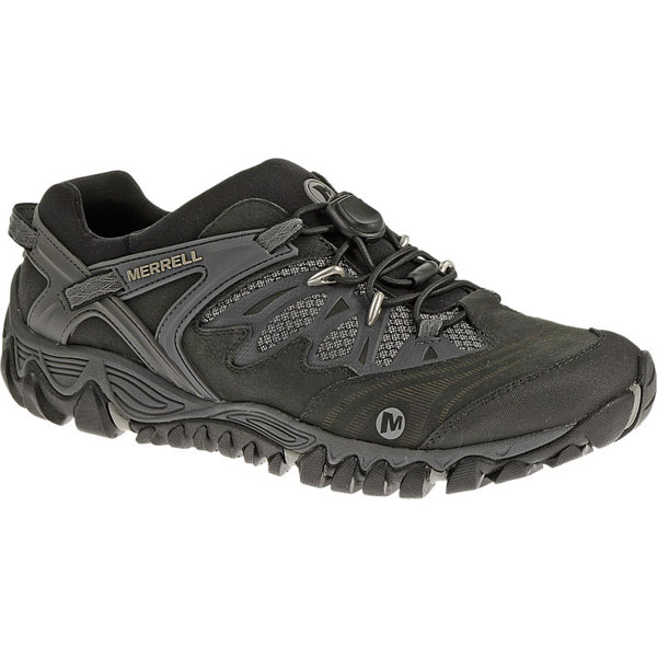 MERRELL MEN'S ALL OUT BLAZE STRETCH Black/Silver