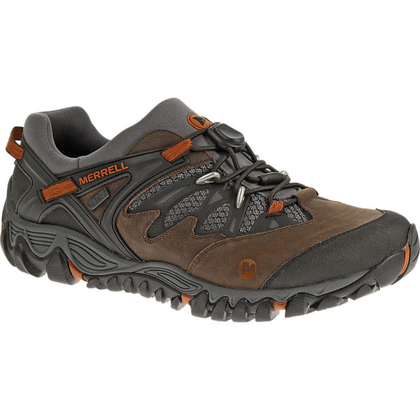 MERRELL MEN'S ALL OUT BLAZE STRETCH WATERPROOF Brown
