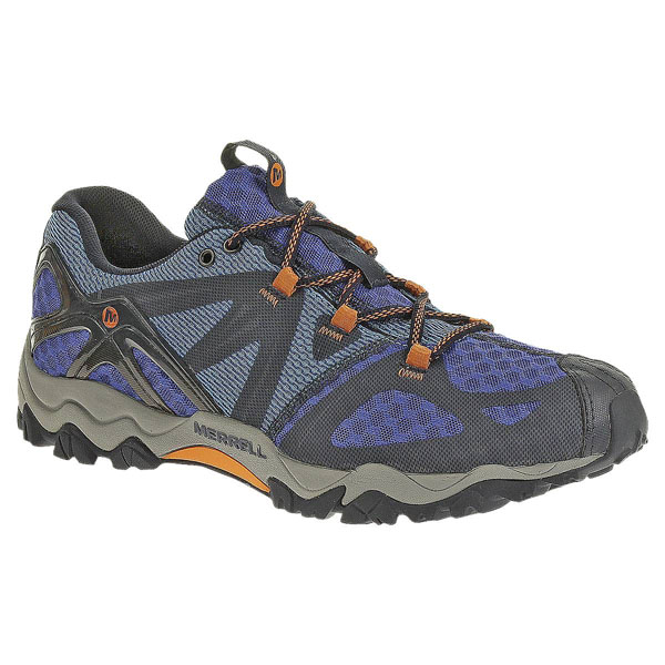 MERRELL MEN'S GRASSBOW AIR Navy/Orange