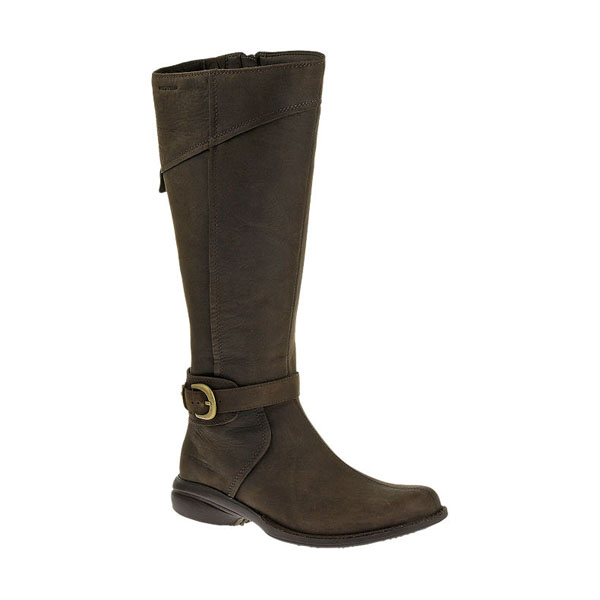 MERRELL WOMEN'S CAPTIVA BUCKLE-UP WATERPROOF Espresso