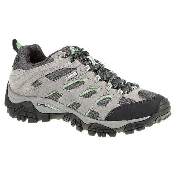 MERRELL WOMEN'S MOAB WATERPROOF Drizzle/Mint