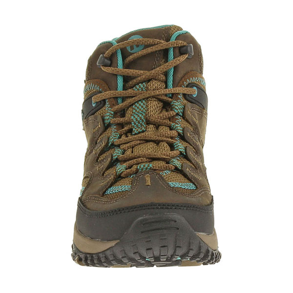 MERRELL WOMEN\'S SALIDA MID WATERPROOF Dark Earth