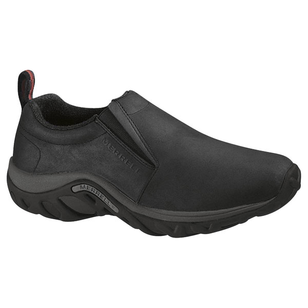 MERRELL WOMEN'S JUNGLE MOC NUBUCK Black