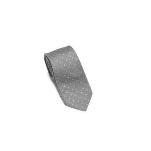 MICHAEL KORS MEN Dotted Silk And Wool Tie SILVER