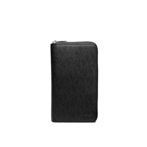 MICHAEL KORS MEN Jet Set Logo Travel Wallet BLACK