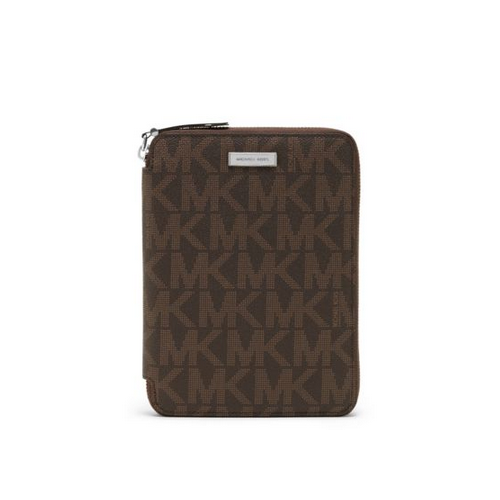 MICHAEL KORS MEN Jet Set Men's Logo Mini Tablet Case BROWN